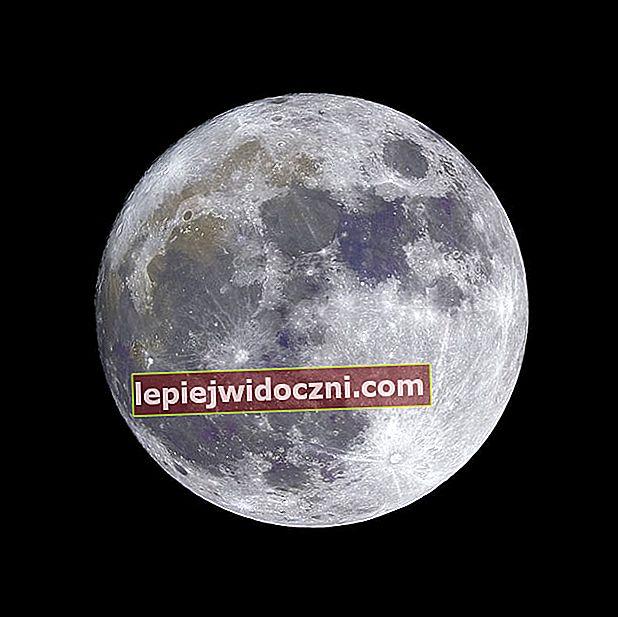 Kształt Księżyca i jego faza oraz jego wpływ na ludzi