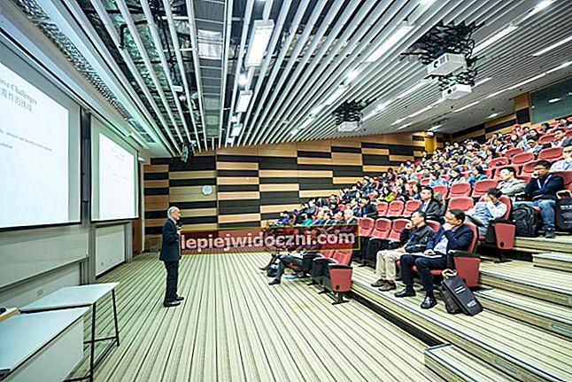 Wykłady są sposobem na przekazywanie informacji, które ludzie uwielbiają na świecie