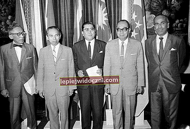 Poznajemy założycieli ASEAN