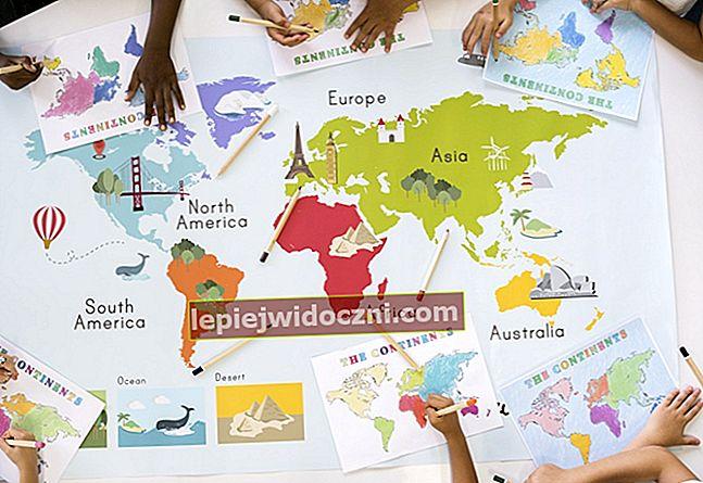 Poznaj 7 kontynentów na świecie